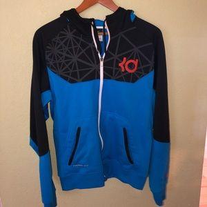 Nike JD Therma Fit zip hoodie.